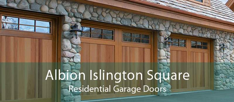 Albion Islington Square Residential Garage Doors