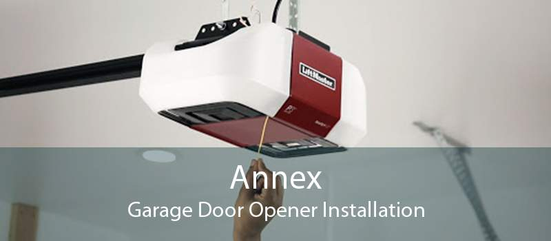 Annex Garage Door Opener Installation