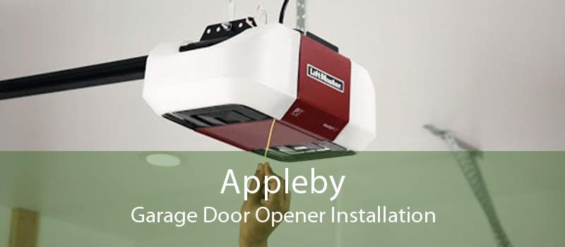 Appleby Garage Door Opener Installation