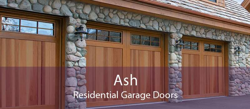 Ash Residential Garage Doors