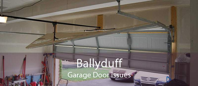 Ballyduff Garage Door issues