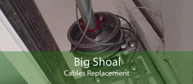 Big Shoal Cables Replacement