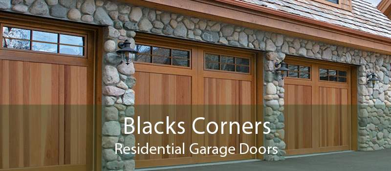 Blacks Corners Residential Garage Doors
