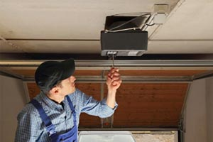 garage door opener installation in Blackstock